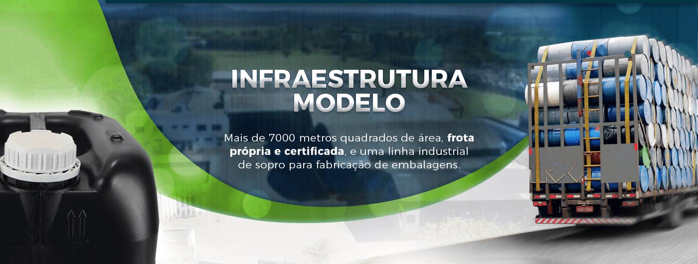 Infraestrutura modelo